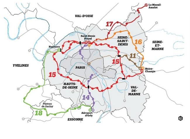 fonctions métropolitaines de paris