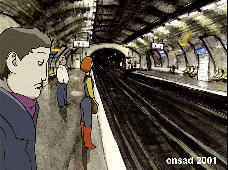 rencontre metro train